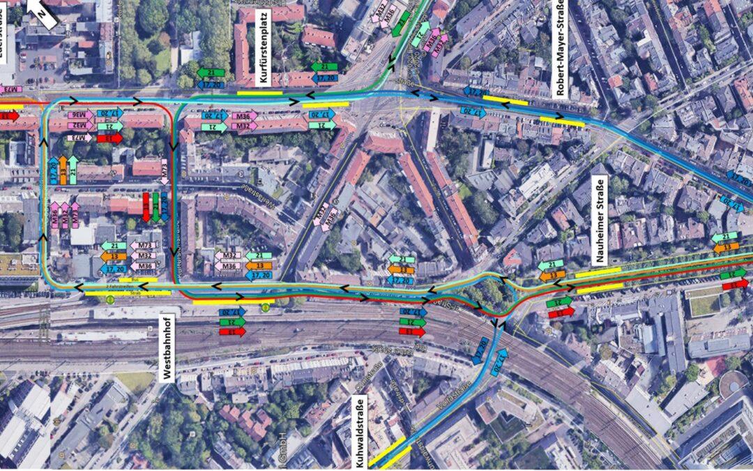 Informationen zur PM Westbahnhof